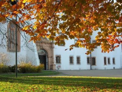 Residenzschloss Celle im Herbstzauber